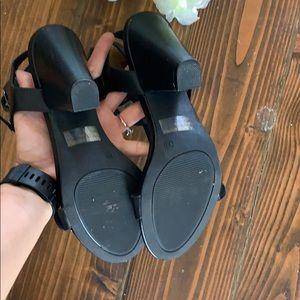 Wild Diva Shoes - Black Sandal / Wild Diva Sandal 10